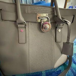 Michael Kors Grey Hamilton Bag